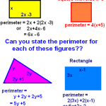 Perimeter of triangles, squares and more